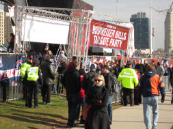 Budweiser Bills Tailgate Party at the Rogers Centre