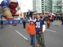 Fan Zone Tailgating at the Rogers Centre for Toronto Bills Series