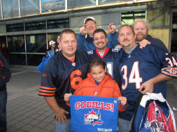Chicago Bears Fans invade Toronto for Bills Toronto Series