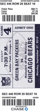 Buy Cheap Chicago Bears Tickets here