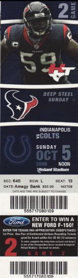Houston Texans Tickets