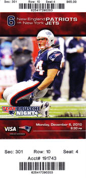 Buy Cheap New England Patriots Tickets Here