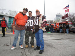 Old Man and Photo Guy - Cleveland Browns Fans