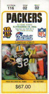 Buy Green Bay Packers Football Tickets
