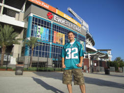Hans Steiniger at EverBank Field