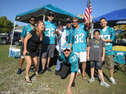 Jacksonville Jaguar Tailgaters - Quest for 31