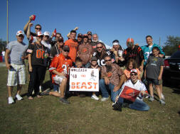 Cleveland Browns Fans make the Trek to Jacksonville