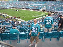 Hans Steinigerat EverBank Stadium