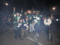 Hanging with Jets Fans