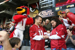 Big Red the Arizona Cardinals Mascot