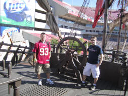 Buccaneers Pirate Ship at Raymond James Stadium