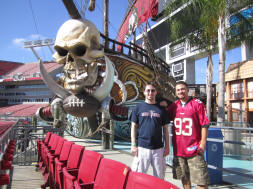 Buccaneer Cove - Raymond James Stadium