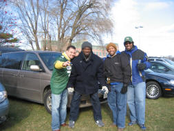 $20 parking lot at Lambeau Field
