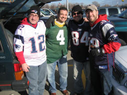 New England Patriots fans from Boston, MA