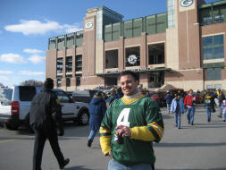 Green Bay Packers Stadium - Lambeau Field - the frozen tundra