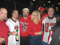 The Tailgating crew at the Atlanta Falcons Game