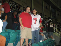 Jeremy and I in Section 321