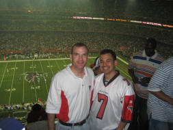 A Couple of Huge Atlanta Falcons Fans