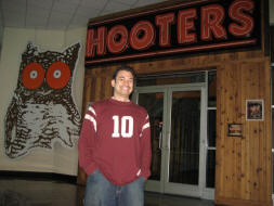 Onsite Hooters at FedEx Field