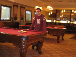 Billiards Tables at Club Level?