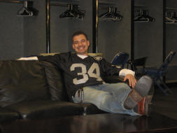 Oakland Raiders Stadium Tour