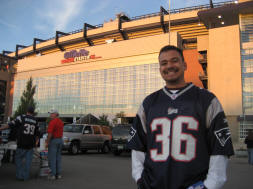 Quest for 31 at Gillette Stadium