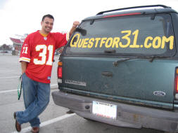Quest for 31 in Kansas City