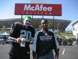 Jokeraider at McAfee Coliseum