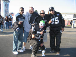 Hangin' with the fellas from RaiderFans.net
