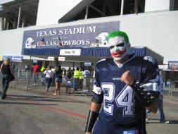 The Joker at Texas Stadium
