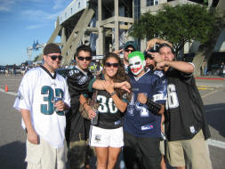 Philadelphia Eagles Fans in Dallas