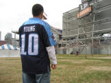 Vince Young Tennessee Titans Jersey