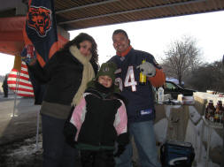 Tailgating in the bitter cold