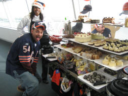 Bring on the Chicago Bears Deserts