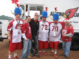 Cardinals #1 Tailgate with the HATS