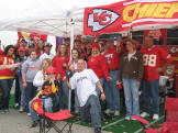 Kansas City Chiefs Tailgating Gazebo