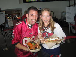 Tampa Bay Bucs Suite Level Concessions