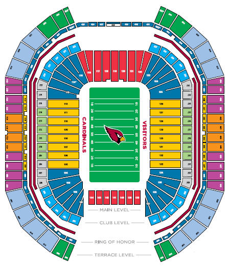 NFL Football Stadiums - Phoenix Cardinals Stadium - July 2007