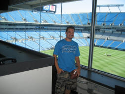 Nfl Football Stadiums Carolina Panthers Stadium Bank
