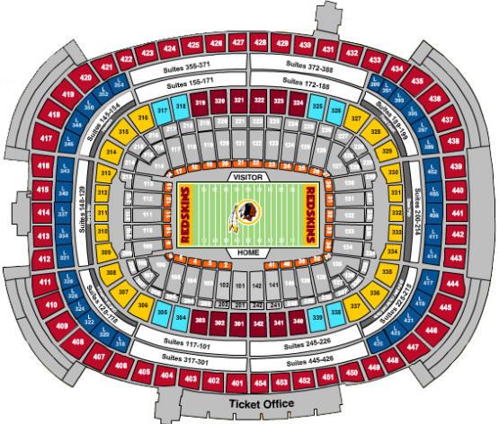 Washington S Stadium Fedex Field